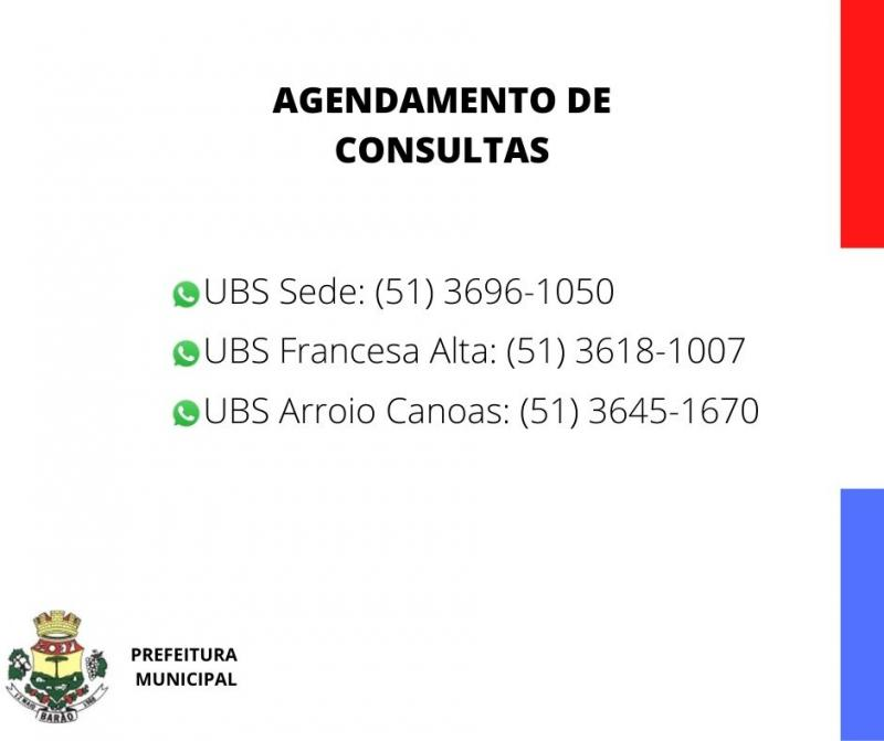 AGENDAMENTO DE CONSULTAS VIA WHATSAPP